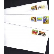 Prepaid $1 stamped + envelopes 110mm x 220mm