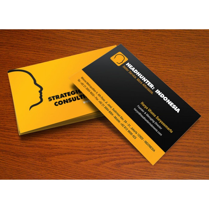 Business Cards + Design